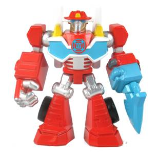 TRANSFORMERS Rescue Bots Mini Con Heatwave